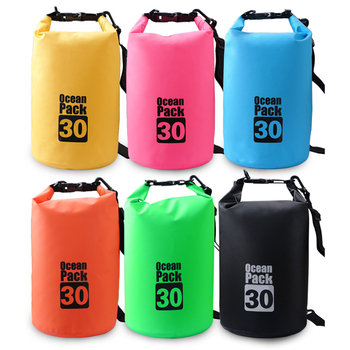 500D PVC Durable 2L 5L 10L 20L Ocean Pack Waterproof dry bag