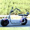 Dogebos 2 big wheel electric motorcycle Citycoco/Woqu X1 with lithium battery 1000W