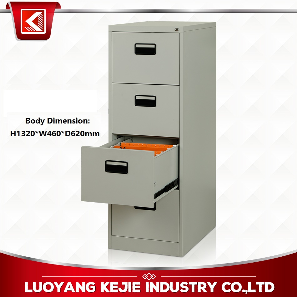 10 Year Experienced Manufacturer KD Structure 2/3/4 Drawer Steel Filing Cabinet