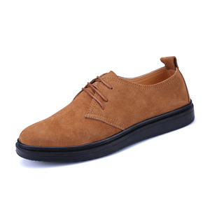 Stylish Cow Suede Leather Casual Mens Shoes Sneakers Flats Quality Shoe For Men Wholesale