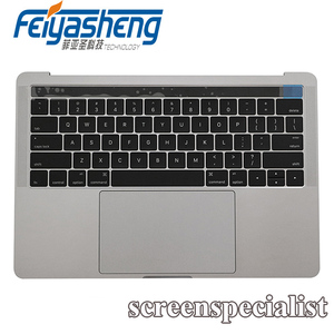 "Original new repairing parts upper cases for Macbook 13"" A1706 topcase with keyboard trackpad battery assembly"