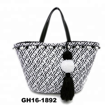 Paper Straw Handbags Designer Fabric Brand Bags