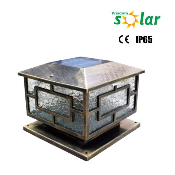 2016 nouveaut ce d coratif jardin solaire lumi re poteau for Lampe solaire pour portail