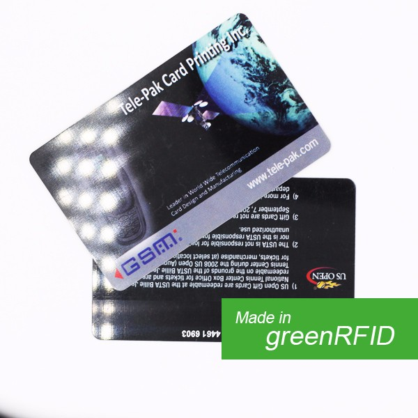 E-blocking customized craft Parking card/ Government card/ Bank card