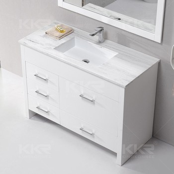 Modern Design Solid Surface Dining Room Washbasin Cabinet ...