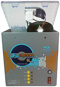 JFJ One-Step Eyecon Mini Video Game, CD, DVD, Blu-Ray Repair Machine with JFJ Easy Pro Video Game, CD, DVD, Blu-Ray Repair Machine 110V