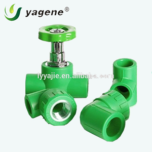 Thick wall ppr plastic water pipe main fittings
