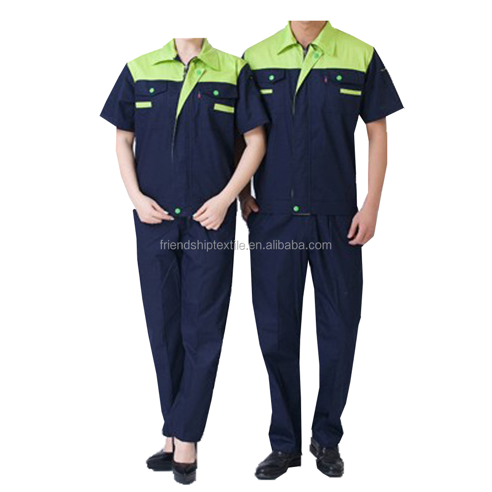 Wholesale Chinese Blue Work Uniform Workwear Clothing