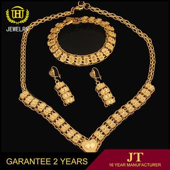Latest Fashion Italian Gold Jewelry SetsDubai 18 Carat Gold Jewelry
