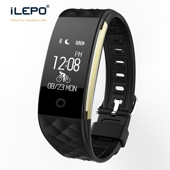 Wristband Smart Health Bracelet S2 Dynamic Heart Rate Email Messaging Smart watch Fitness tracker 0.96 inch