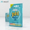 Changchun Merydi FDA CE approved super sensitive Universal ph paper strips, ph test paper strip ph 0-14