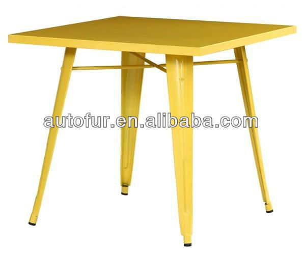 Durable Industrial Antique Metal Bar Table  Bar Furniture