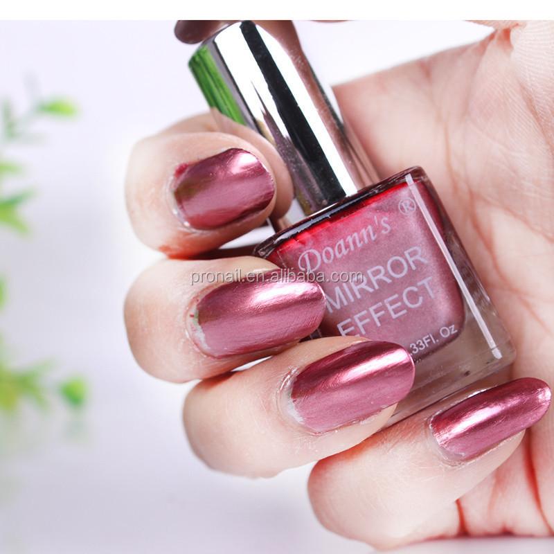 Espejo metálico uñas 5 colores para la opción-Esmalte de Uñas ...