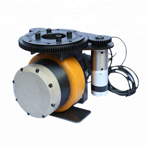 750W Brushless DC Motor Horizontal AGV Motor Wheel Electrical Driving Wheel Assembly
