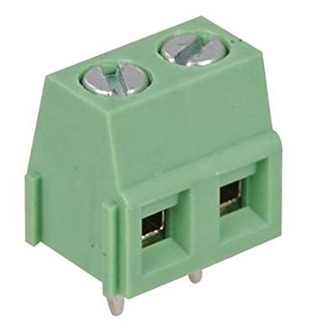 On Shore Technology OSTYC022150 Connector, Terminal Block, Top Screw, 2 Position, 300V, 10A, Green (Pack of 10)