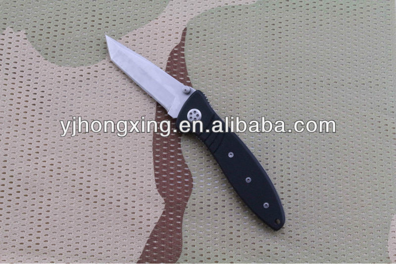 Saber knife with aluminium handle hunting knife blade blanks