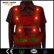 Amazon Hot Sales Politie Reflecterende Vest/kind veiligheid vest