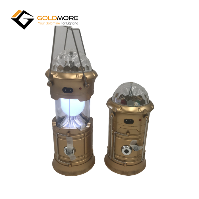 Custom Made Camping Lantern Disco Solar Battery Camping Light