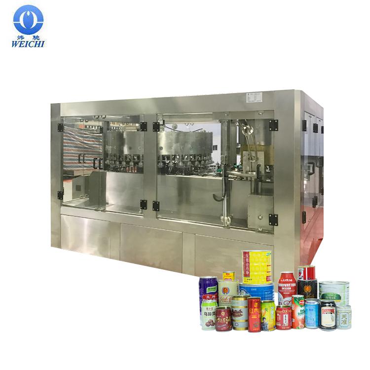 Pop Drank automatische gemakkelijk open kan vullen capper Soda Kan Vullen Seamer Machine