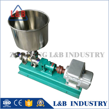 G type viscous liquid transfer progressive cavity pump
