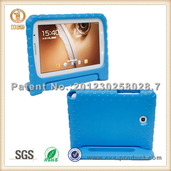 Anti shock EVA kid proof rugged tablet case for 8 inch tablet