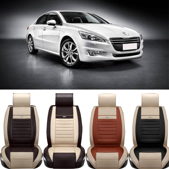 special leather car seat cover peugeot 307 206 308 407 207 406 408 301 3008 car accessories. Black Bedroom Furniture Sets. Home Design Ideas