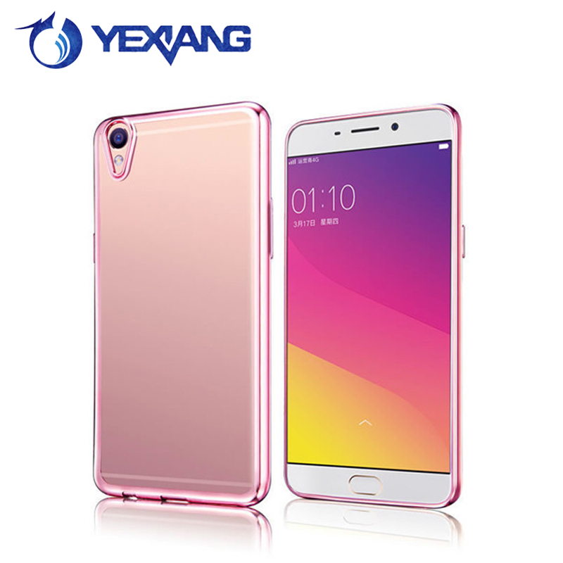 in stock electroplate tpu soft case cover for vivo y51 cellphone case