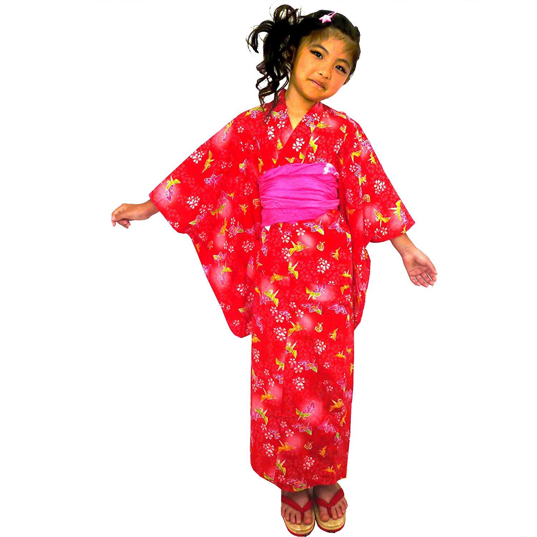 Surugajino Samueya Yukata Kids 163-1300
