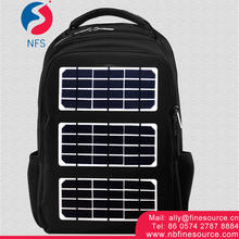Rechargeable Bag Shoulders Travel Storage Camping Outdoor Picnic Solar Bag