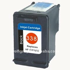 Ink cartridge for HP C8765E(338) Black