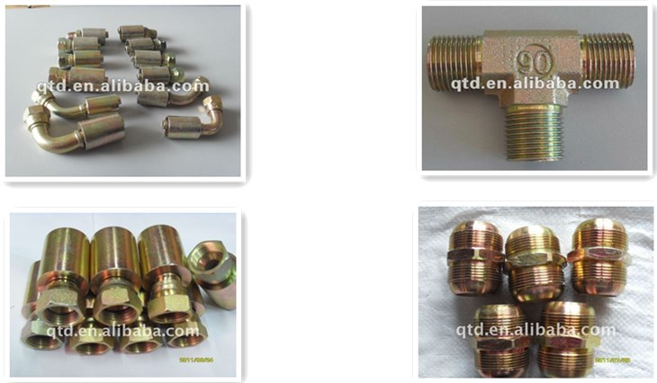 Promotional hydraulic hose ferrule fittings for sale