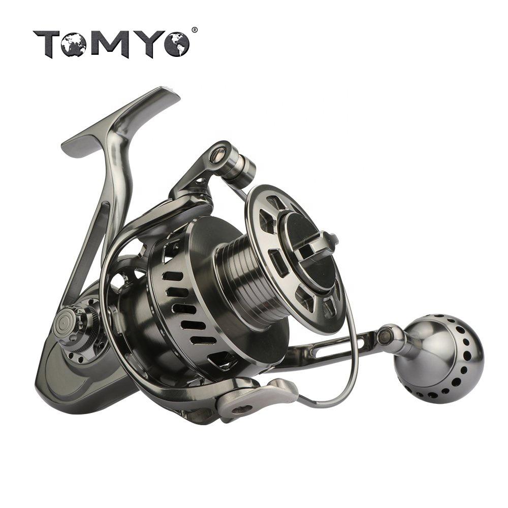 Tomyo Full Metal CNC Saltwater Fishing Spinning Reel Spinning, Gun material