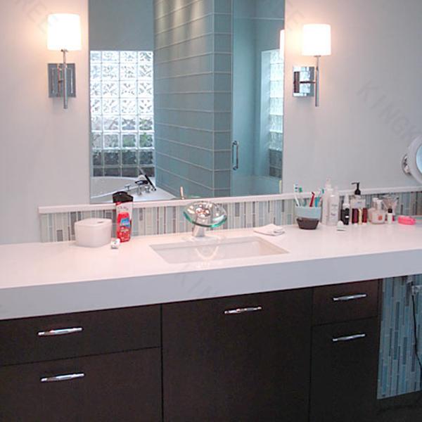 Kunstmarmor l shapd badezimmer eitelkeit tops fertig bad arbeitsplatte produkt id 60414618522 - Arbeitsplatte bad ...