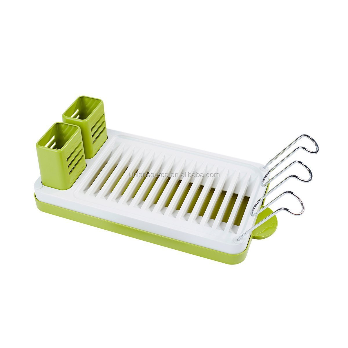 Hot Colorful Plastic Dish Drying Rack Kitchen Drainer Storage Shelf With Drain