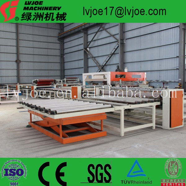 small scale 2-30 million sqm/yr automatic equipment for making gypsum/gesso board