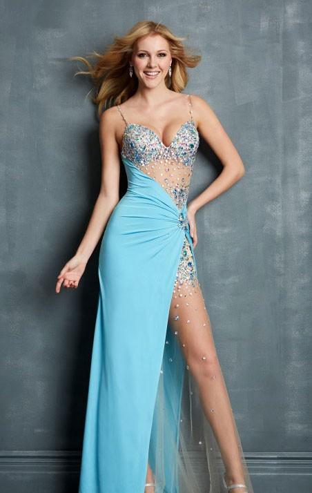 Super Sexy Long Evening Dress Split Leg Prom Dress Made In China ...