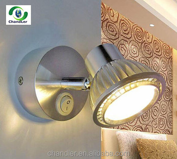 New Switch Wall Light 220v 5w Bedroom Lamp Bathroom Mirror Lights Stair Bedhead Reading