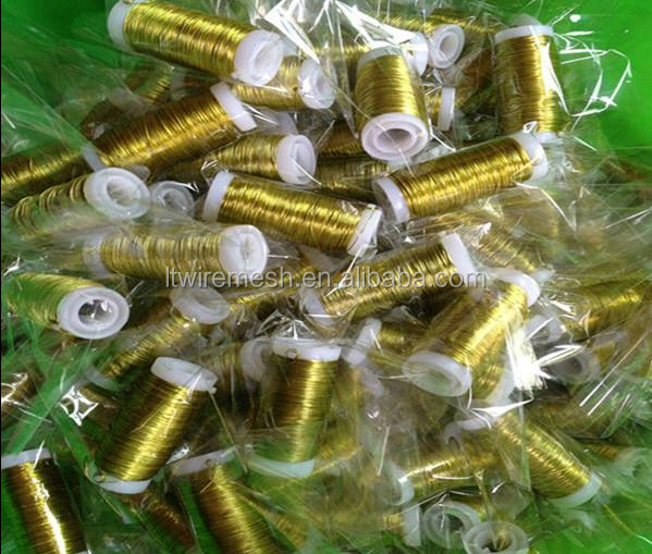 All kinds of colored metal wire / Art wire /Flower wire