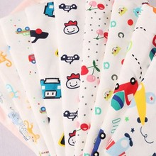 stock high quality cartoon custom printed interlock pima free sample of cotton fabric