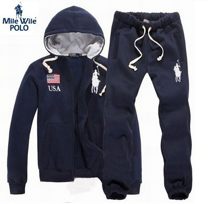 pick up official san francisco Buy Brand Polo Men Hoodies Tracksuit sueter masculino Hoodies Men ...