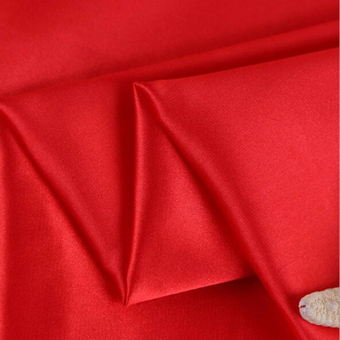 China suppliers poly Satin fabric/Night Cloths /Sateen for Curtain,Dress,Garment,Home Textile,Wedding,Ribbons