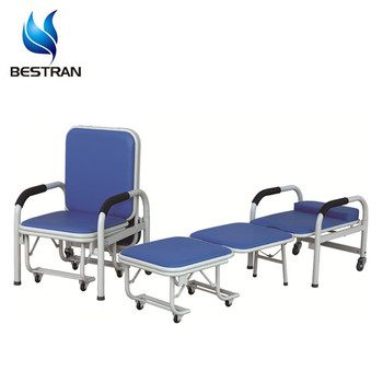 Enjoyable Bt Cn001 Hospital Furniture Patient Accompany Chair Bed Portable Examination Table Medical Chair Buy Portable Examination Table Medical Creativecarmelina Interior Chair Design Creativecarmelinacom