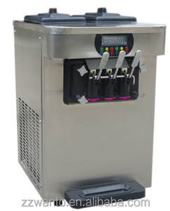 Vertical stainless steel soft ice cream machine prices