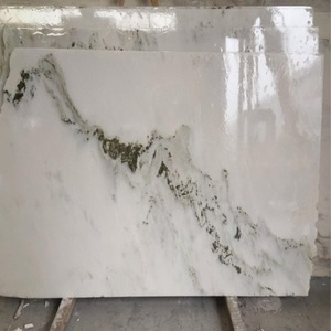 natural stone luxury color Landscape Painting Marble slabs product with Wooden Crate&Paper Box