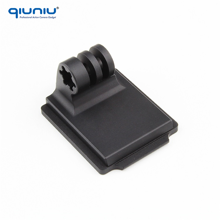 QIUNIU Go Pro Accessories Aluminum Helmet Fixed Mount NVG Mount Base for GoPro Hero 5 4 3 3 Plus 3+ 2 SJCAM Xiaomi Yi