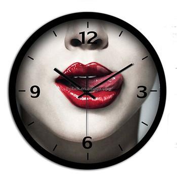 31c0528d6b7 Sexy Lábios Menina Relógio De Parede - Buy Sexy Lábios Menina ...