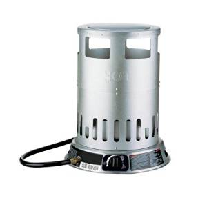 """Easy-to-use Dyna-glo 80k BTU Portable Convection Tower Propane Heater- 15.91""""w X 18.50""""h X 15.91"""" D"""