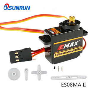 Mini Size Metal Gear Analog Servo ES08MA II 8.5 G for RC Motor Replacement Part Shockproof and Stable RC Servomotor Metal Gear