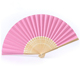 blank bamboo gift wedding invitation printed paper folding hand fans