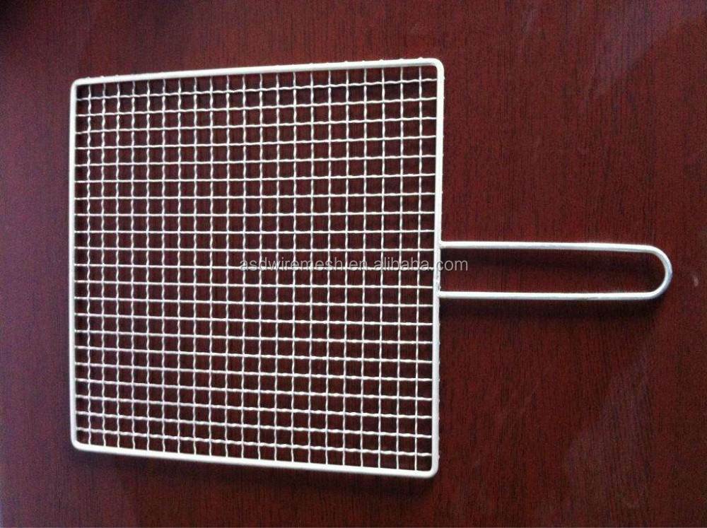 Woven Barbecue Mesh Stainless Steel BBQ Mesh Rack(factory)